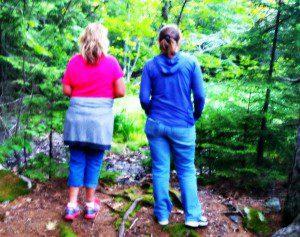 Hiking Center Hill - Weld